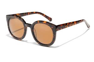 New-Epokhe-Oha-Sunglasses-Tortoise-Gloss-Bronze-Lens-RRP-180
