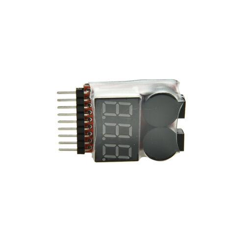 Alarme De Basse Tension De Batterie De Lipo De Rc1S-8S Indicateur De Buzzer JE