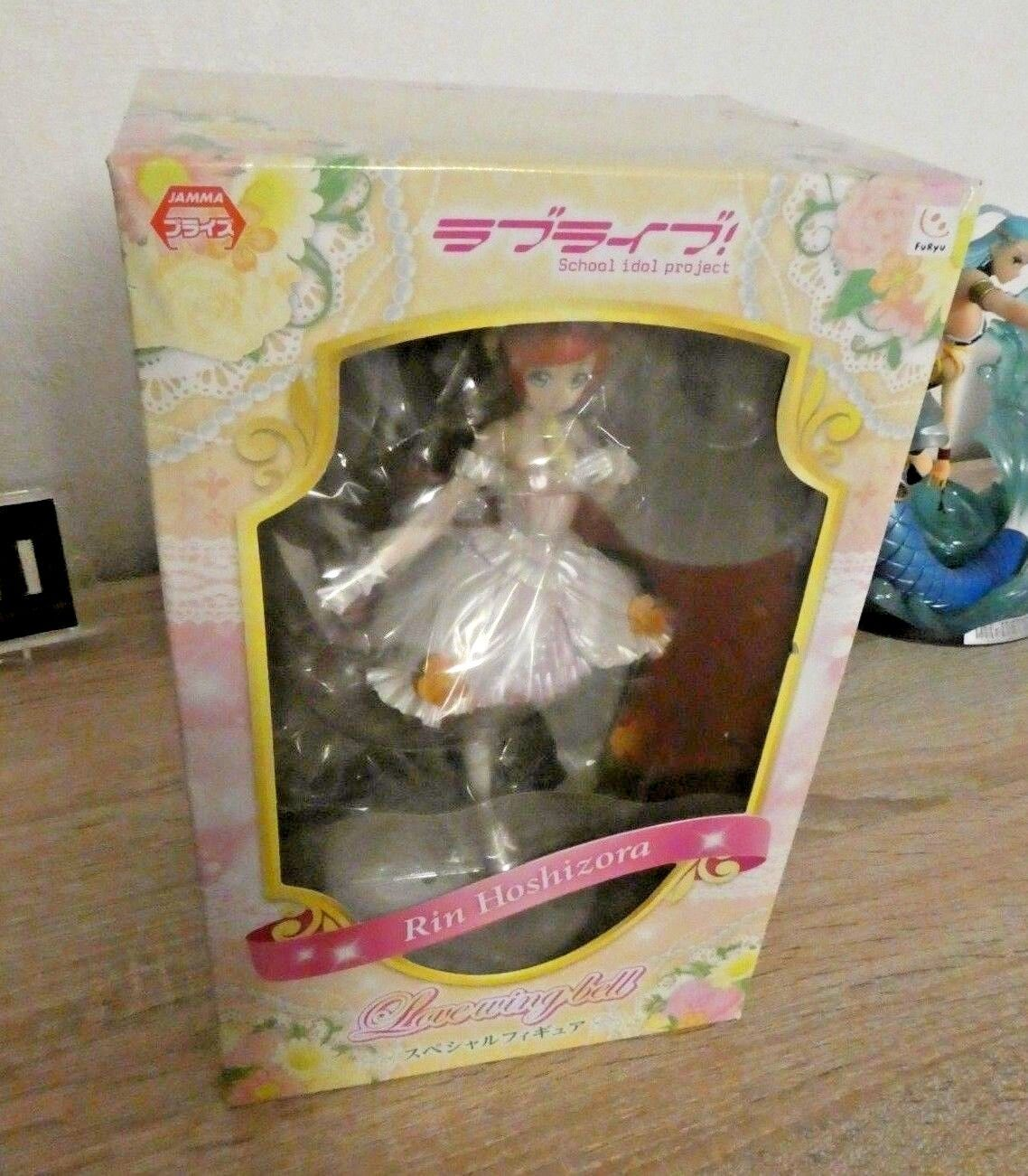 LOVE LIVE   SCHOOL IDOL PROJECT SPECIAL FIGURE LOBE WING BELL LOVELIVE RIN NEW