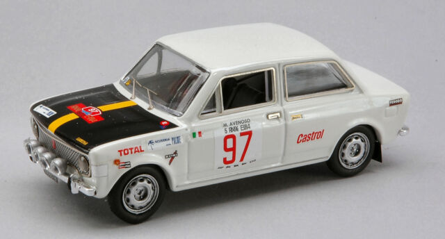 Fiat 128 #97 Rally Elba 1972 1:43 Model RIO