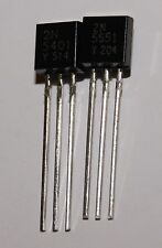TRANSISTOR 2x 2N5401 2N5551 TO-92 (2 coppia) NUOVE
