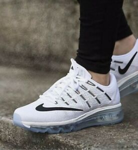 Details about New Nike Women's Air Max 2016 in Summit White/Black-White Colour Size 9.5