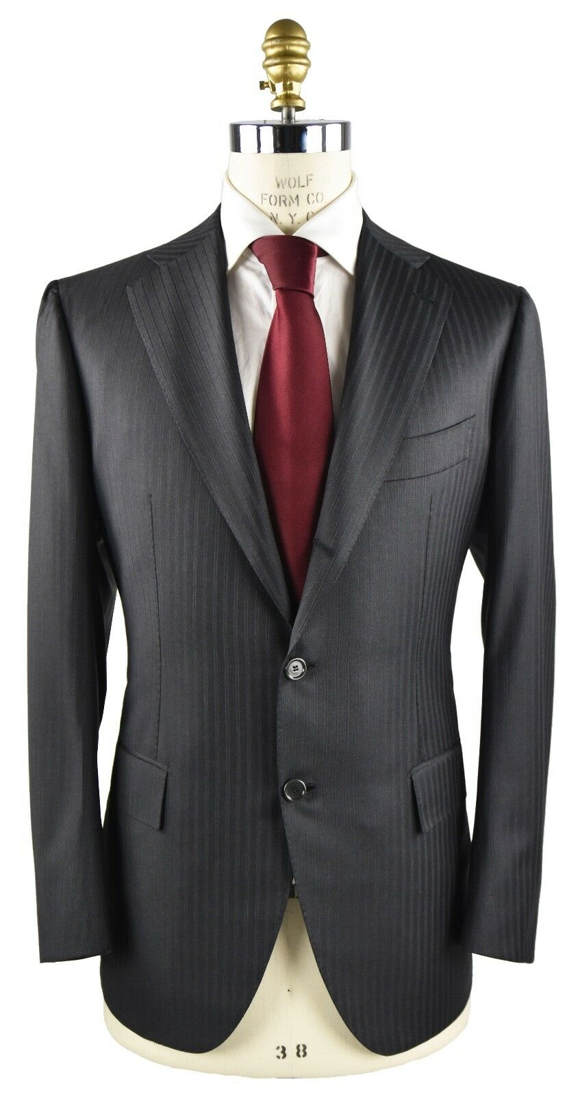 NEW CESARE ATTOLINI SUITS  WOOL 130'S AND CASHMERE SZ 40 US 50 EU 7R 18AV94