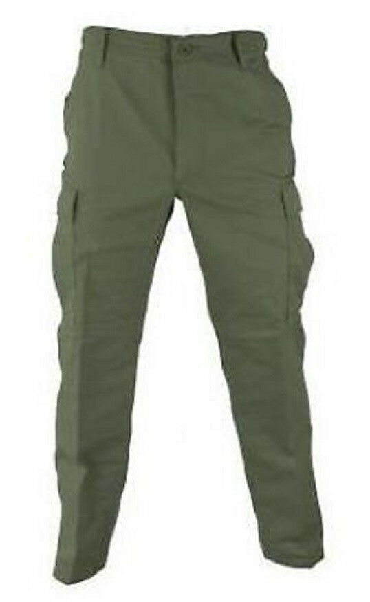 Propper US BDU COMBAT ARMY OUTDOOR TROUSERS FIELD PANTS OLIVE LARGE REGULAR