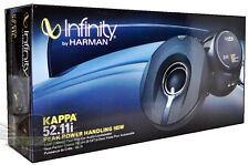 "Infinity KAPPA 52.11I 5-1/4"" 2-Way CAR AUDIO COAXIAL SPEAKERS 5.25"" CAR SPEAKERS"