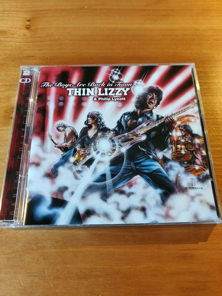 Thin Lizzy: The Boys are Back in Town - Danish Collection,