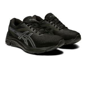 Asics Femme Gel-Pulse 12 Chaussures De Course Baskets Sneakers Noir Sport