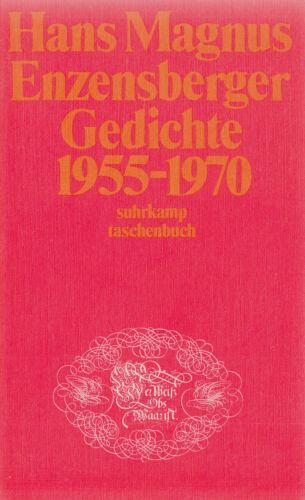 1 von 1 - su- t 0004 ENZENSBERGER : GEDICHTE 1955-1970