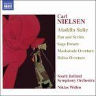 Nielsen: Aladdin Suite; Pan and Syrinx; Saga Deam; Maskarade Overture; Helios Overture (CD, Aug-2005, Naxos (Distributor))