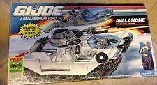 GI Joe Avalanche Vehicle with Cold Front Figure & Ice Mine Launcher MIB 1990