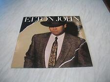 LP - Elton John - Breaking Hearts album vinyl record Rocket 1984