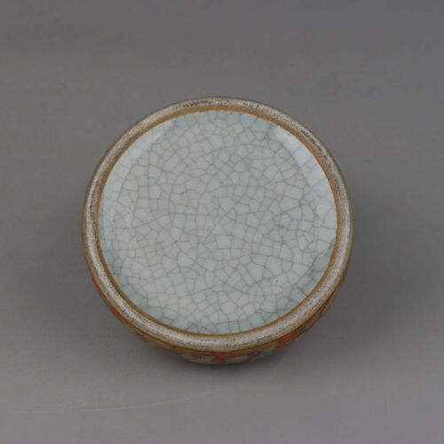 Chinese antique Porcelain Qing qianlong fambe red Brush washer Collection A1