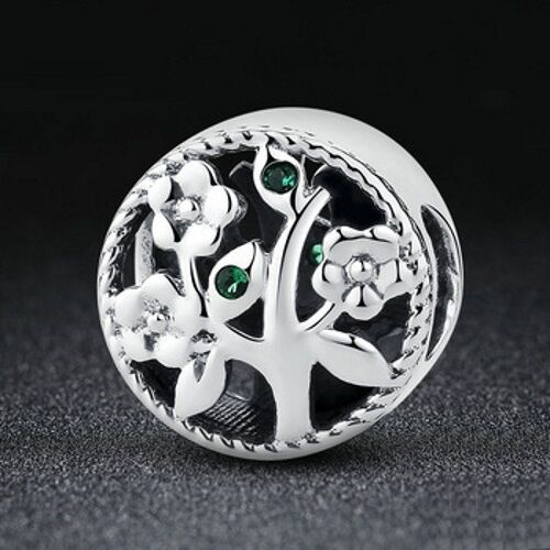 Stunning 925 Sterling Silver Tree Of Life Charm
