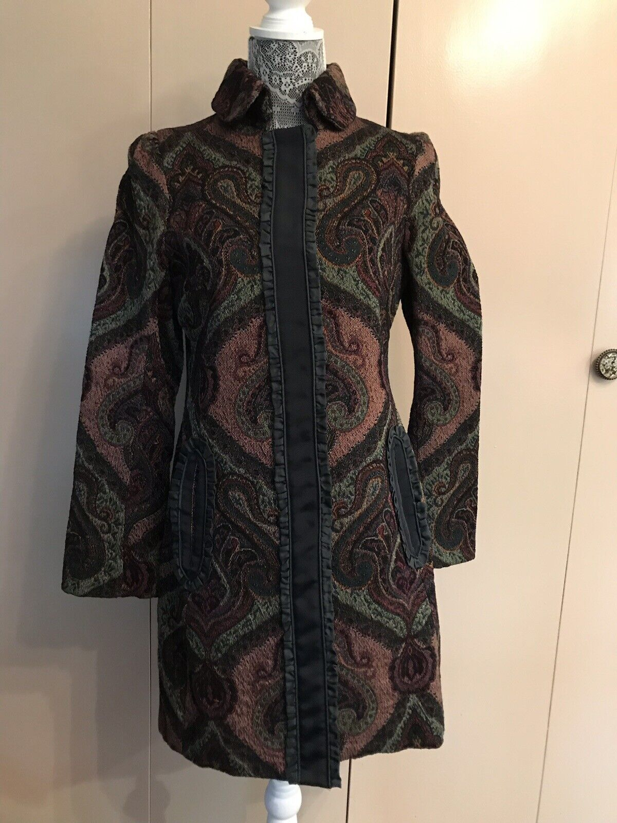 HOSS av Anthropologie Paisley Coat - 38