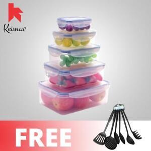 Keimavlock-10-Pc-Airtight-Food-Storage-with-6PC-Cooking-Utensils