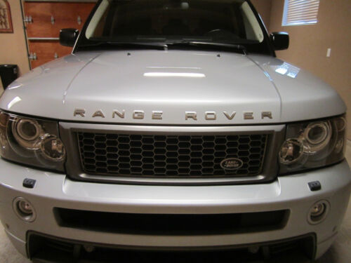Oem Genuine Land Range Rover Sport Emblema Logotipo Emblema Decalque Platinum Silver