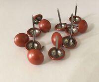 Upholstery Tack Decorative Nails Orange Pack 100 (056)