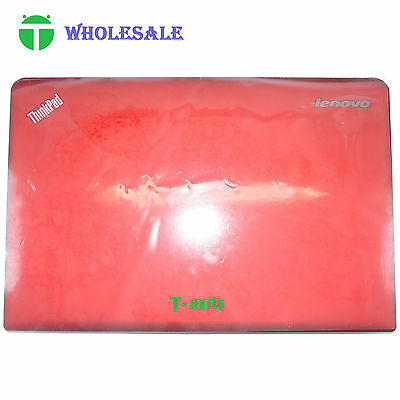 New For Lenovo ThinkPad E531 E540 Slim Back Cover Top Case Rear Lid Red