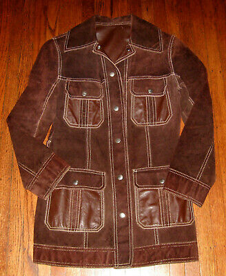 60s70s REVERSABLE LeatherSuede Jacket