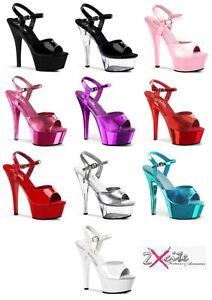 Pleaser-Kiss-209-Plataforma-Taco-Alto-Polo-dancing-lap-Bailarina-Zapatos-Tamanos-3-11