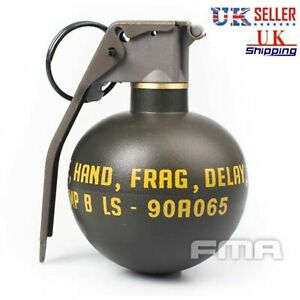 High-Quality-Dummy-Model-Nylon-M-67-M67-Grenade-Tactical-Airsoft-Game-Props-UK