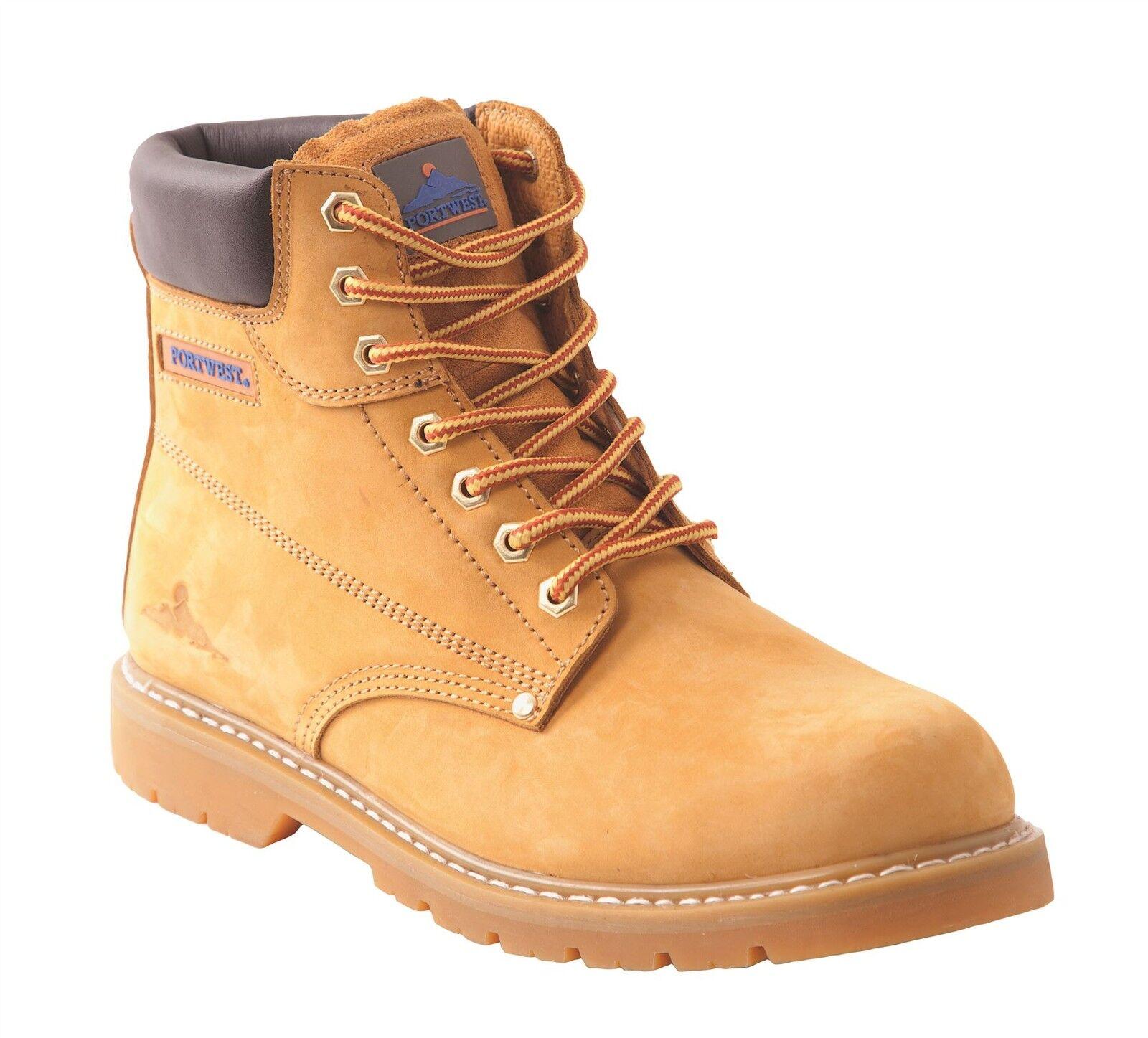 Portwest Taglia GOODYEAR la non-safety leather boot Lavoro Casual Taglia Portwest 6 - 12 FW18 6c0a13