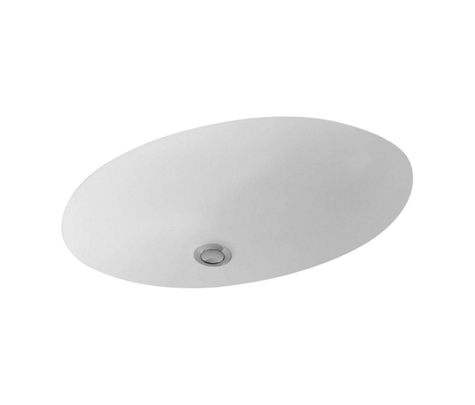 Lavabo ad incasso Sottopiano cm 50x35 (misure interne) Villeroy & Boch EVANA Bco