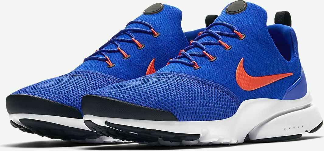 Mens Nike Presto Fly Racer blu Crimson Crimson Crimson Mesh Running Gym Low-top Trainers 841d51