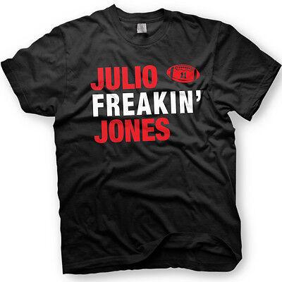the best attitude fbd21 9a32d Julio Freakin Jones - Julio Jones of the Atlanta Falcons - 11 - Funny  T-Shirt | eBay