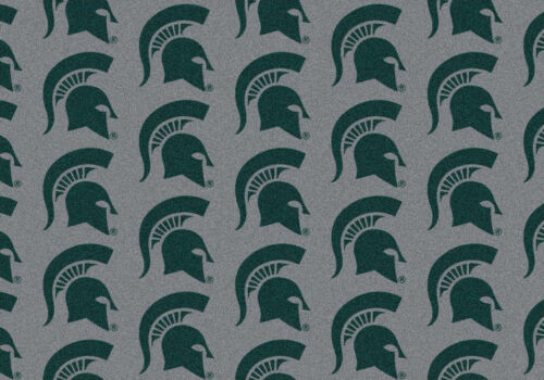 """4x6 Milliken Michigan State Spartans NCAA Repeat Area Rug Approx 3/'10/""""x5/'4/"""""""
