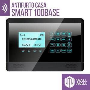 ANTIFURTO ALLARME TOUCH SCREEN CASA COMBINATORE GSM WIRELESS SMART 100BASE