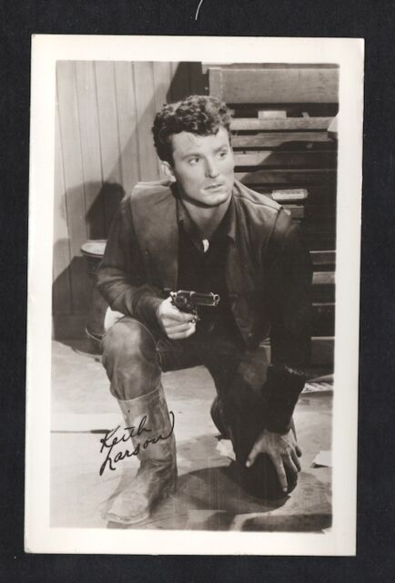 Lon McCallister 1940/'s 1950/'s Actor/'s Penny Arcade Photo Card