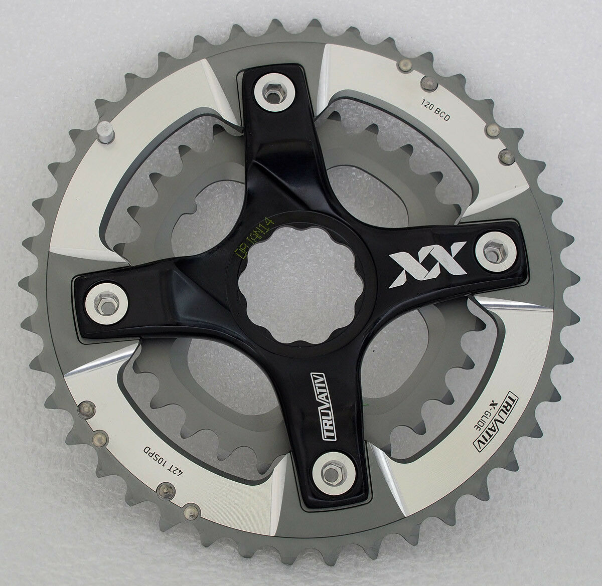 SRAM Truvativ  XX 42-28 T Chainring Set and Spider for Specialized S-Works Crank  be in great demand