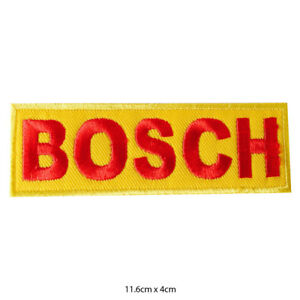 Bosch-Racing-Sponsor-Embroidered-Patch-Iron-on-Sew-On-Badge-For-Clothes-Bags-etc