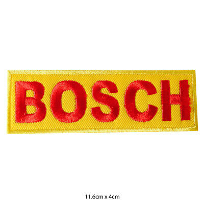 Bosch Racing Sponsor Iron or Sew on Embroidered Patch