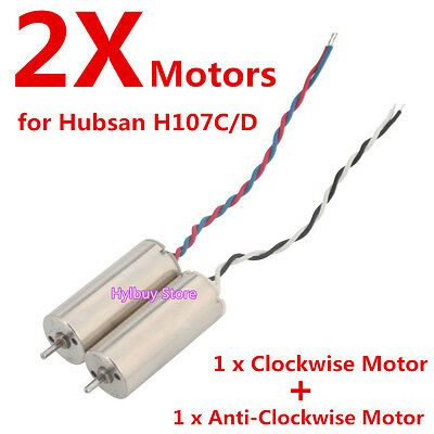 2pcs motor for Hubsan X4 H107C H107D FPV Quadcopter RC Engine Parts Helicopter