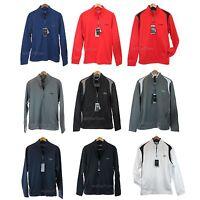 Callaway Golf Opti Series Fleece Men 1/4 Zip Pullover Warm Jacket Sweater