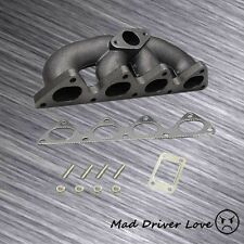 CIVIC B-SERIE BOTTOM MOUNT T3/T4 TURBO CAST IRON EXHAUST MANIFOLD WASTEGATE PORT