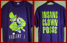 VIOLENT J (INSANE CLOWN POSSE) - GRAPHIC T-SHIRT (XL)  NEW & UNWORN