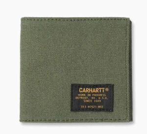 Inquiet Carhartt Wip Camp Portefeuille, Rover Vert-afficher Le Titre D'origine Apparence EsthéTique