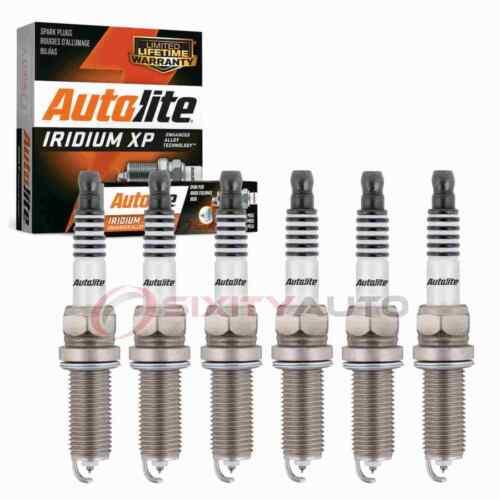 6 pc Autolite Iridium XP Spark Plugs for 2007-2013 Mitsubishi Outlander 3.0L rt