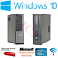 Dell-hp-i5-4th-Gen-Quad-Desktop-SFF-16GB-RAM-SSD-HDD-Windows-10-Computadora-Pc miniatura 1