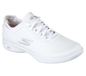 4027109e85fb NEW WOMEN S SKECHERS ATHLETIC CUSHION LITE OVATION GOGA MAX WHITE ...