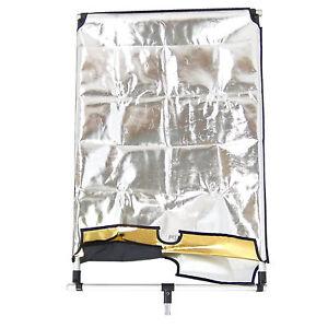 Rèflecteur Studio DynaSun 4in1 WOS2008 60x92cm avec Fond Blanc Noire Argent Or - France - État : Neuf: Objet neuf et intact, n'ayant jamais servi, non ouvert, vendu dans son emballage d'origine (lorsqu'il y en a un). L'emballage doit tre le mme que celui de l'objet vendu en magasin, sauf si l'objet a été emballé par le fabricant d - France