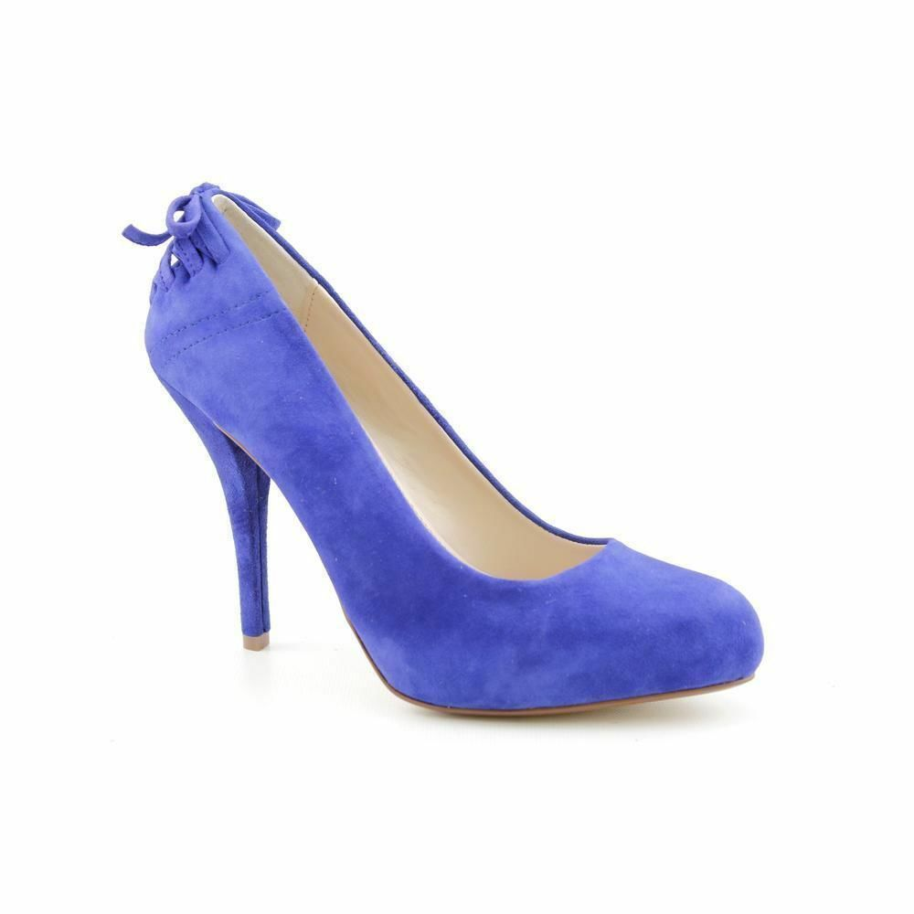 Chinese Laundry Größe 7M Pump Schuhe Don't Stop Suede Pump Blau 7M NIB 100