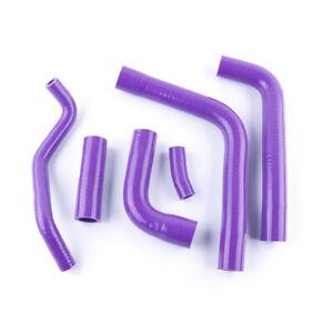 Purple For 1998-2001 Yamaha YZF R1 YZFR1 Silicone Radiator Coolant Hose Kit