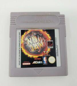 NBA Jam (Nintendo Game Boy, 1994) Authentic Tested