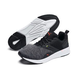 Puma-nrgy-Comet-calcetines-cortos-low-negro