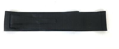 MUSTHAVE NEU BINDEGÜRTEL zum WICKELN 225 cm lang MODERN WOMAN schwarz *071287