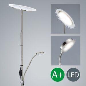 LED-Steh-Leuchte-Decken-Strahler-Stand-Lampe-schwenkbar-Fluter-Leselampe-Leuchte